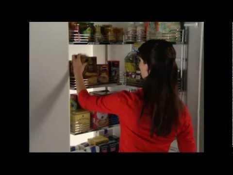 Häfele - Hochschrank Innenauszugsset für Vorratsschrank