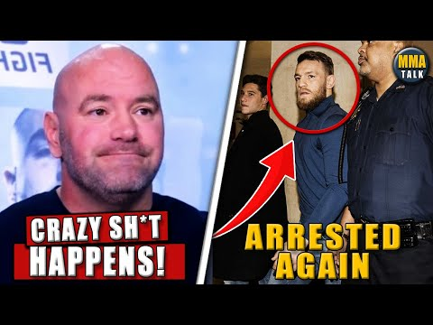 Dana White REACTS to Conor McGregor's arrest, Conor denies reported allegations,UFC Waterson vs Hill