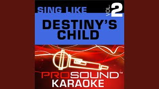 Happy Face (Karaoke with Background Vocals) (In the Style of Destiny's Child)