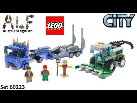 Vidéo LEGO City 60223 : Le transport de l'ensileuse