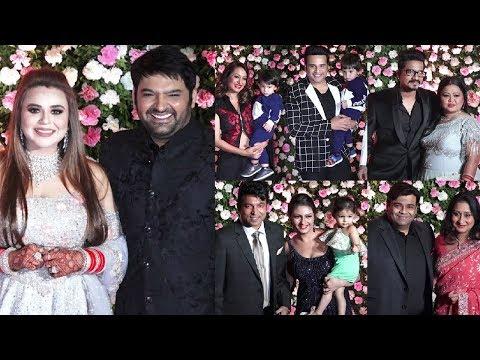 The Kapil Sharma Show Season 2 Cast With Family At Kapil Sharma Wedding Reception