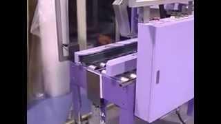 フラップ折込み機構付調整型ダンボール封緘機 ワークメイト51(セキスイ)