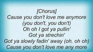 Angie Stone - You Don't Love Me Lyrics