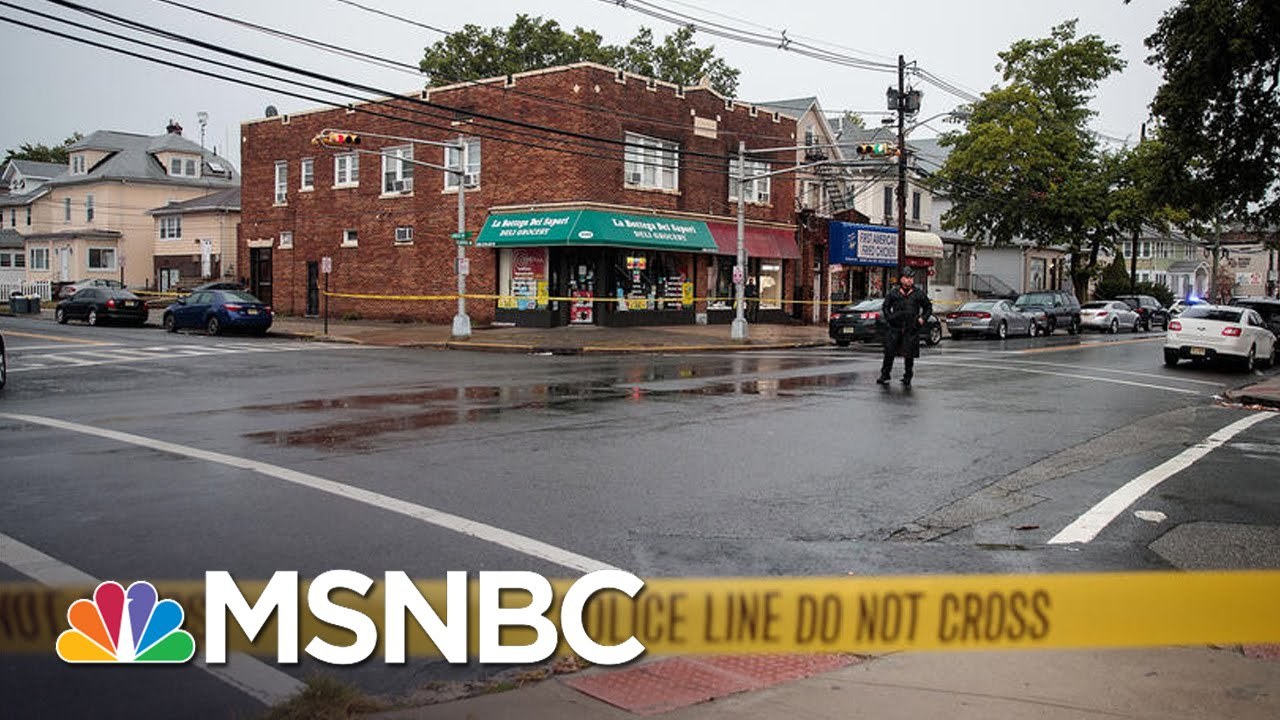 Investigation In Linden, NJ Underway As Chelsea Explosion Suspect On Way To Hospital | MSNBC thumbnail