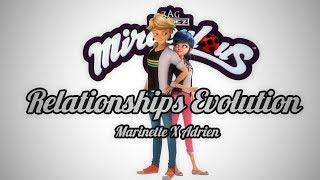 Relationship Evolution   Miraculous Season 1   Season 2 (MarinetteXAdrien)
