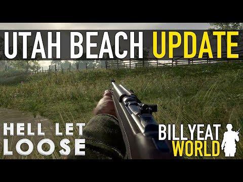 "New Map ""UTAH BEACH"" + New Tanks + More | HELL LET LOOSE (Update 1)"
