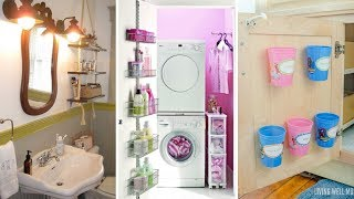 10 DIY Storage Ideas For Small Bathroom And Laundry Room