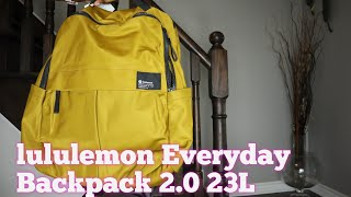 Lululemon Everyday Backpack 2.0 23L Review