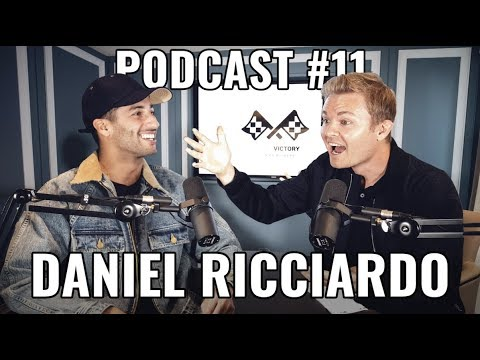 Image: Watch Daniel Ricciardo and Nico Rosberg sit down for a podcast