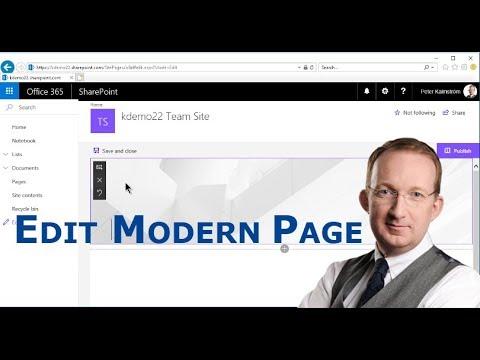 SharePoint Online Modern Page Customization