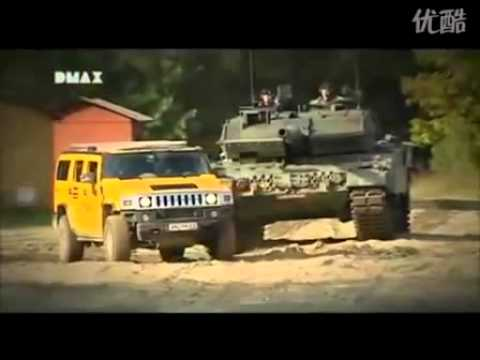 HUMMER H2 And Leopard 2A6.flv Mp3