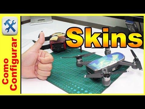 Skins y adhesivos de personalización para el DJI Spark