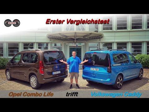 VW Caddy oder Opel Combo Life // Wer ist der bessere Hochdachkombi?! Test - Vergleich - Review
