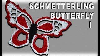 Zweifarbiger 3d Schmetterling Häkelanleitung самые популярные видео