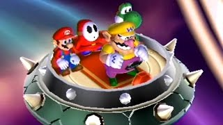 Mario Party 9 Dk S Jungle Ruins 2 Player Party Barrel Roller