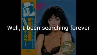 "Donna Summer - One Night in a Lifetime LYRICS SHM ""Bad Girls"" 1979"