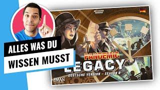 Pandemic Legacy S0 - Alle Infos! - KEINE Spoiler [Brettspiel 2020]