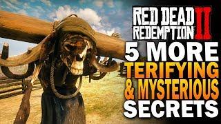 5 More RDR2 Secrets & Mysteries! Red Dead Redemption 2 Secrets