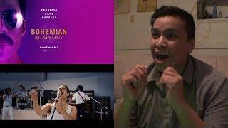 BOHEMIAN RHAPSODY | Official Teaser Trailer [HD] Reaction | 20th Century FOX