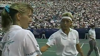 Steffi Graf vs Martina Navratilova 1989 US Open Final Highlights