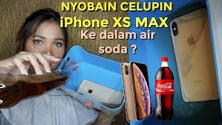 23 Juta.. TEST CELUPIN IPHONE XS MAX KE AIR SODA!/PUT IPHONE XS MAX TO SODA WATER! | Dinda Shafay Video thumbnail