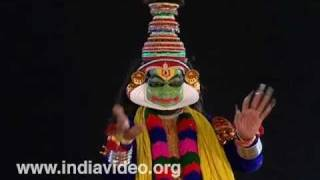 Ashtakalasam by Lord Krishna and Balabhadra in Subhadraharanam Kathakali