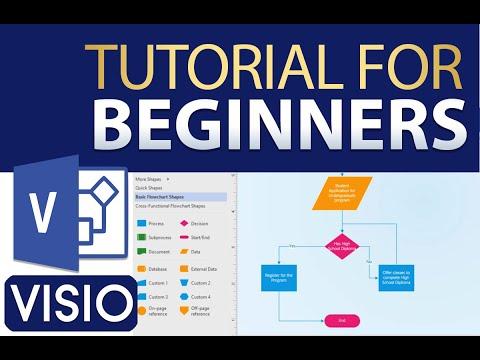 The Beginner's Guide to Visio - Visio Basics Tutorial - YouTube