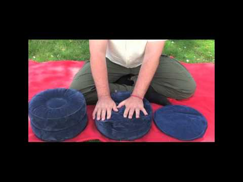 Aufblasbares Meditationskissen SAMTEN SUN, ZAFU, Produkterklärung