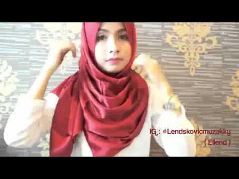 Video tutorial hija pashmina simpel buat datang ke acara keluarga