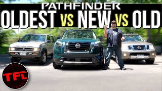 Old vs. New: You Won't BELIEVE How Much The Nissan Pathfinder Has Changed Over The Last 30 Years!