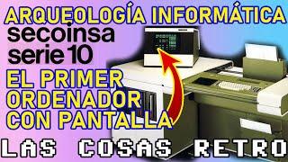 ORDENADOR SECOINSA 10-4 🖥 ARQUEOLOGÍA INFORMÁTICA | Telesincro | El PRIMER ORDENADOR