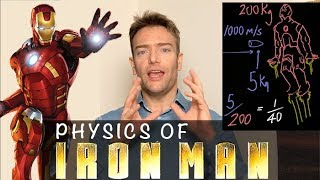 Physics of Iron Man