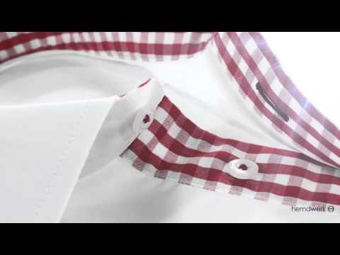 Stoff #1200 Popeline weiß easy-care, bügelleicht Businesshemd Maßhemd von hemdwerk®