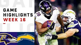 Ravens vs. Chargers Week 16 Highlights | NFL 2018