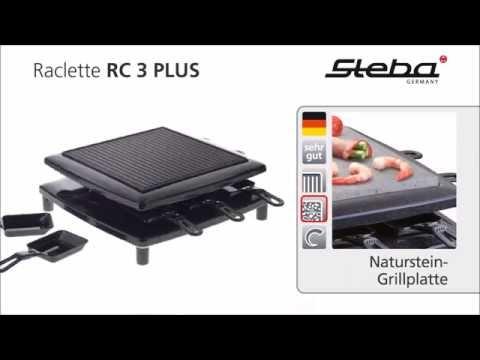 Steba Raclette grill RC 3 PLUS