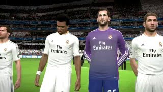 Real madrid vs juventus UEFA final - pes 14   -pc