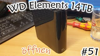#51 WD Elements 14TB öffnen
