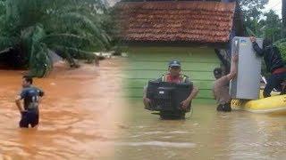 Detik-detik Rumah Warga Tersapu Banjir Bandang di Kabupaten Konawe Utara, 395 Jiwa Mengungsi