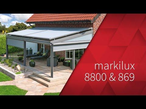 markilux 8800 & markilux 869 - Wintergarten-Markise