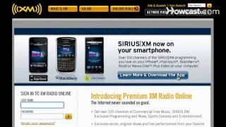 How to Get XM Radio