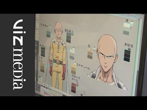 ONE PUNCH MAN- Official Anime Behind The Scenes SNEAK PEEK!