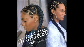 Alicia Keys Inspired Braids | HairByMason
