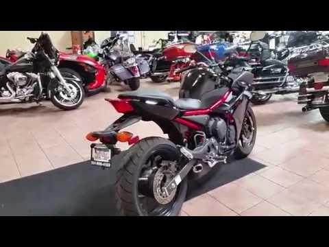 2016 Yamaha FZ6R in Murrieta, California