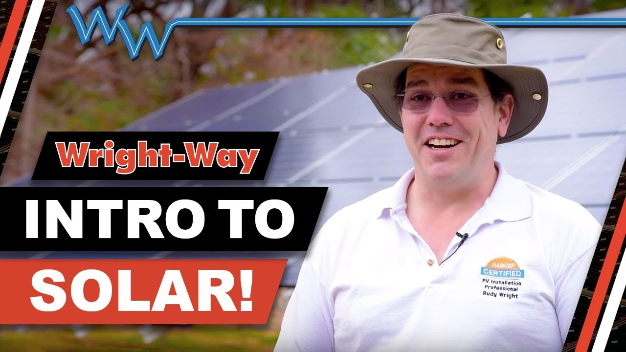 Our Intro to solar and customer testimonial