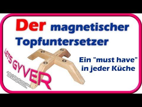 Magnetischer Topfuntersetzer | Ein must have in der Küche |