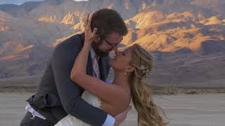 Amazing video from Jon and Melissa's Desert Wedding