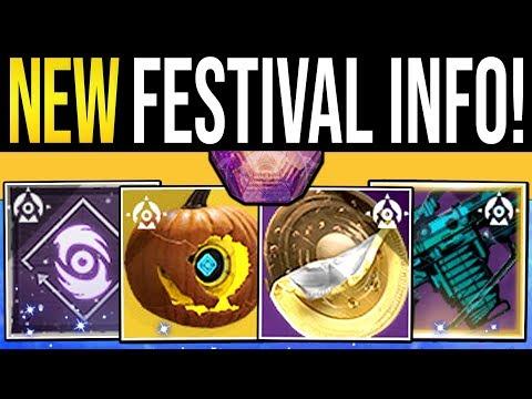 Destiny 2 | FESTIVAL REVEALED & NEW REWARDS! Event Armor, Weapon Quest, Broom Sparrow & Exotic Loot!