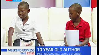Meet Njogu Gitau,a class 5 student who is an author of 2 comic books