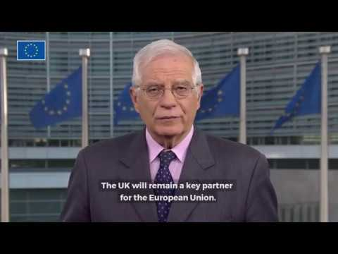 HR/VP Borrell on Brexit and the new EU Delegation to UK