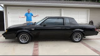 The Buick Grand National Is the Ultimate 1980s Muscle Car